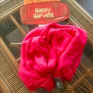Vince Camuto Large Scarf/ Wrap Red